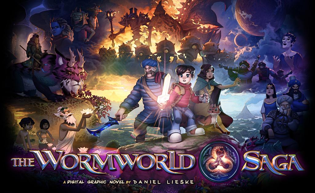 The Wormworld Saga - A Digital Graphic Novel by Daniel Lieske